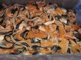 Zalmtrimmings, 500 gram