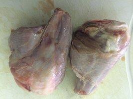 Konijnenbillen met veel vlees, per 2 stuks